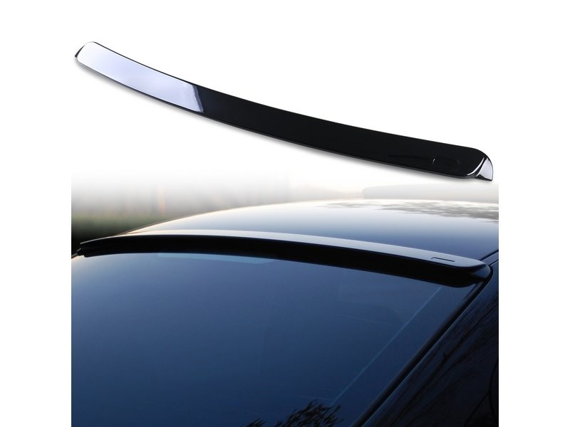 Painted ABS roof spoiler for BMW E46 4D AC TYPE Black Saphire 475