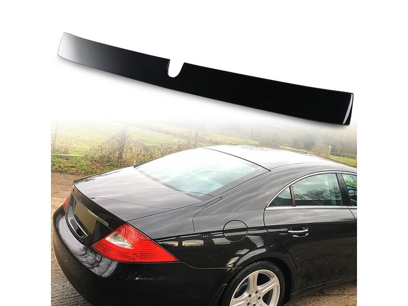 Painted ABS roof spoiler for Mercedes Benz W219 L TYPE Obsidian Black 197