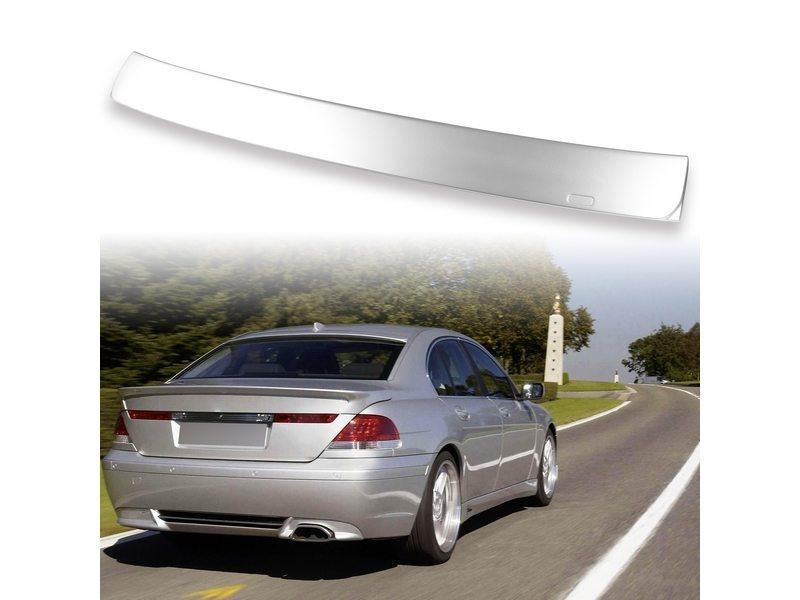 Painted ABS roof spoiler for BMW E65 AC TYPE Titan Silver 354
