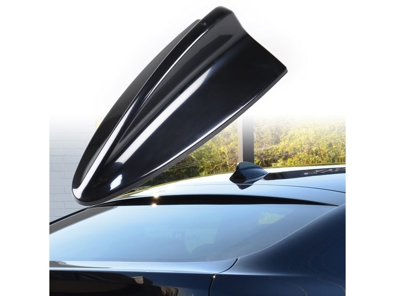 BMW M3 STYLE SHARK FIN AERIAL DUMMY ANTENNA BLACK ABS