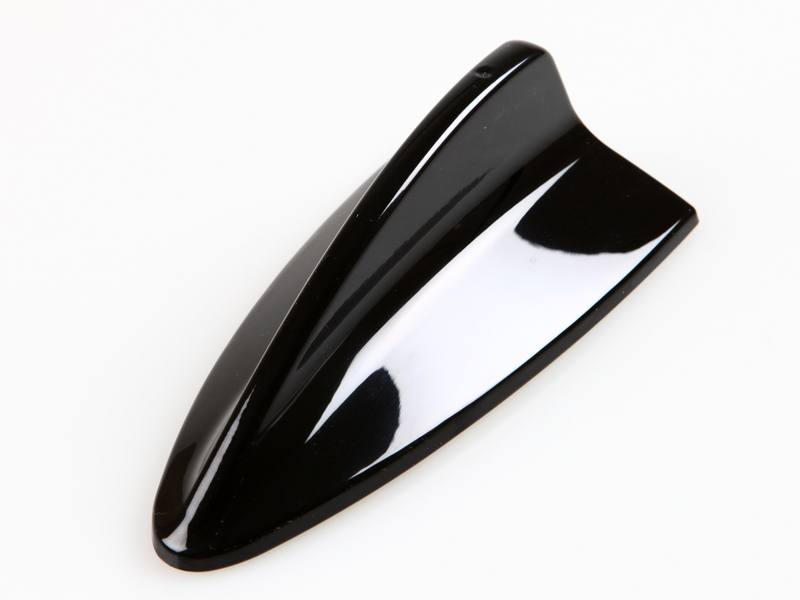 BMW M3 STYLE SHARK FIN AERIAL DUMMY ANTENNA PAINTED BLACK