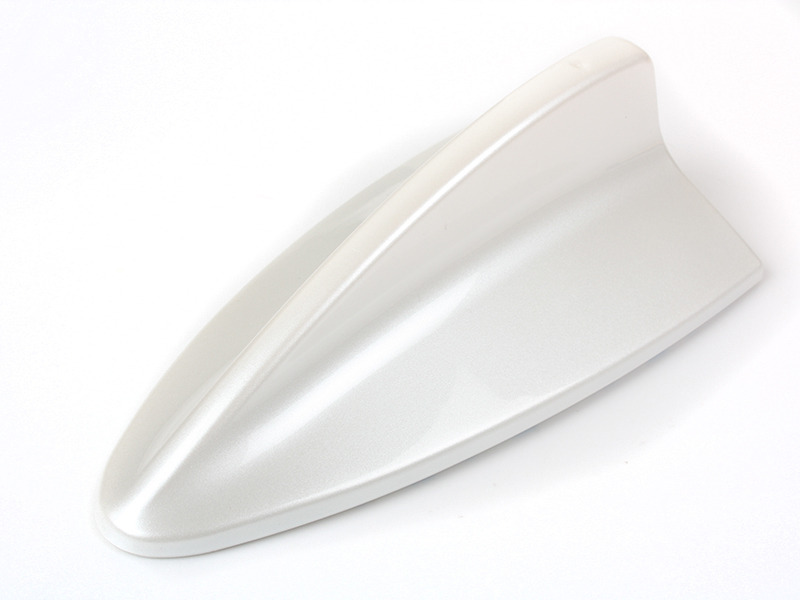 BMW M3 STYLE SHARK FIN AERIAL DUMMY ANTENNA PAINTED WHITE