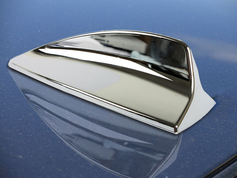 Chrome BMW Style Shark Fin Static Antenna