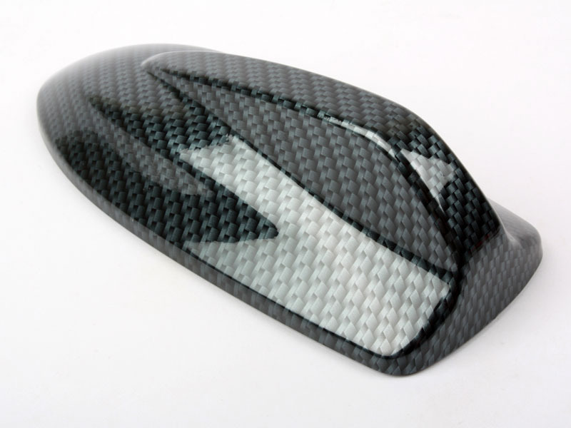 Carbon Look VOLVO C30 Style Shark Fin Static Aerial Dummy Antenna Universal