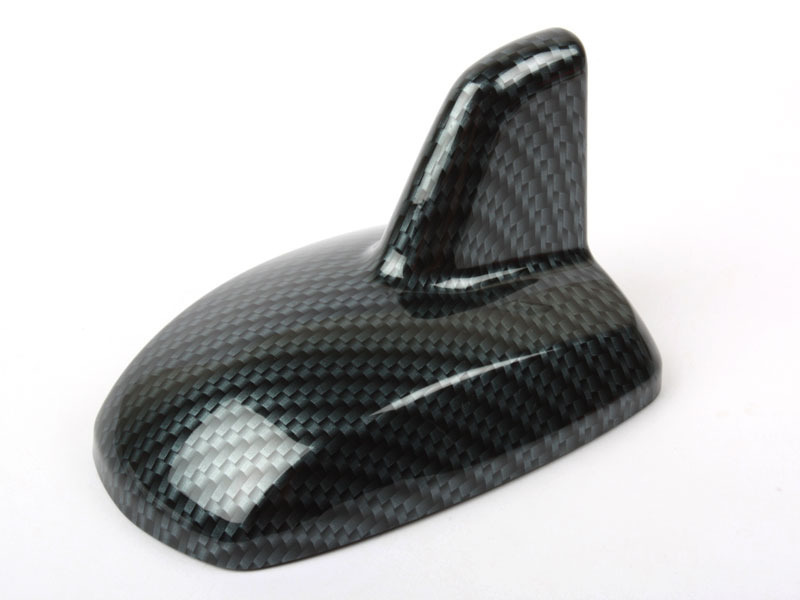 Carbon Look Mercedes-Benz W212 Style Shark Fin Static Aerial Dummy Antenna