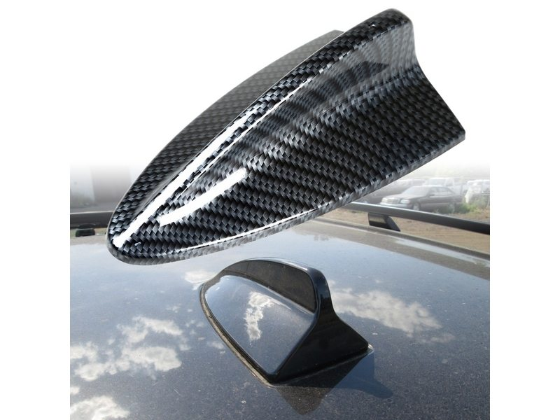 Carbon Look BMW Style Shark Fin Static Aerial Dummy Antenna Universal Fit