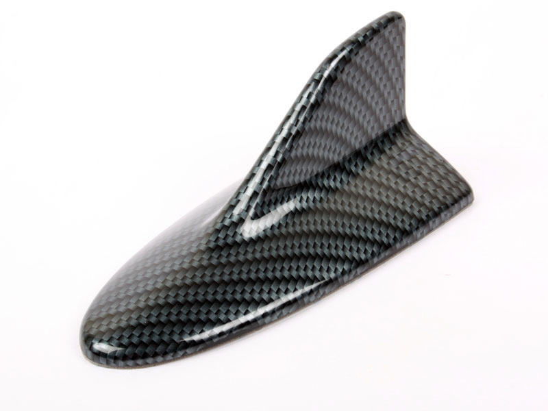 Carbon Look Lexus Style Shark Fin Static Aerial Dummy Antenna Universal Fit