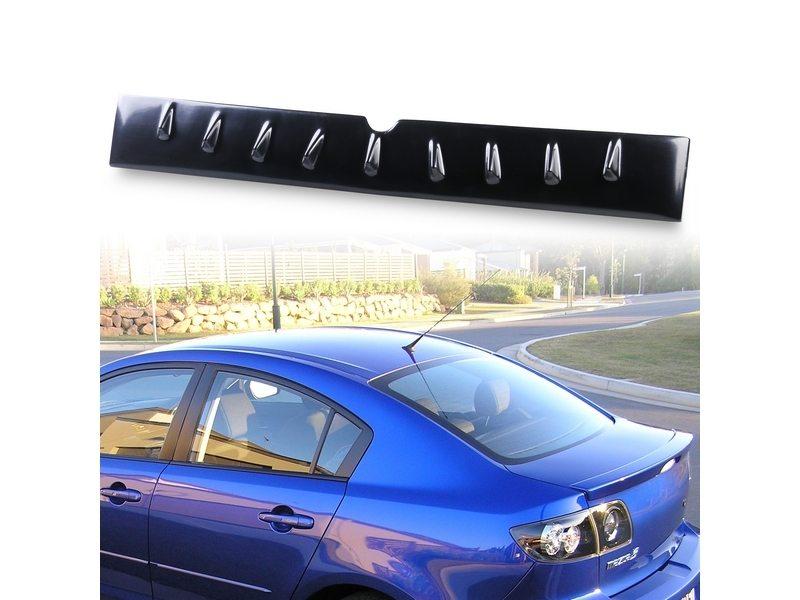 Mazda 3 EVO Style Roof Spoiler Shark Fin Antenna