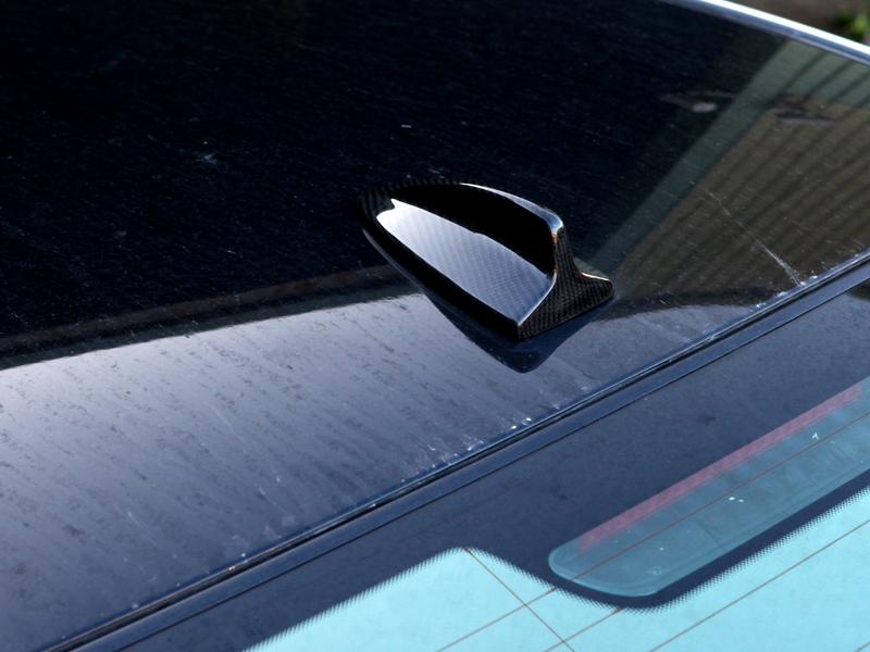 BMW E82 E90 E92 REAL CARBON CF SHARK FIN ROOF ANTENNA COVER G07