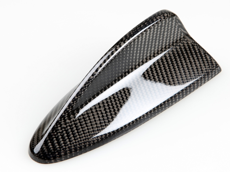 BMW E82 E90 E92 REAL CARBON CF SHARK FIN ROOF ANTENNA COVER G09
