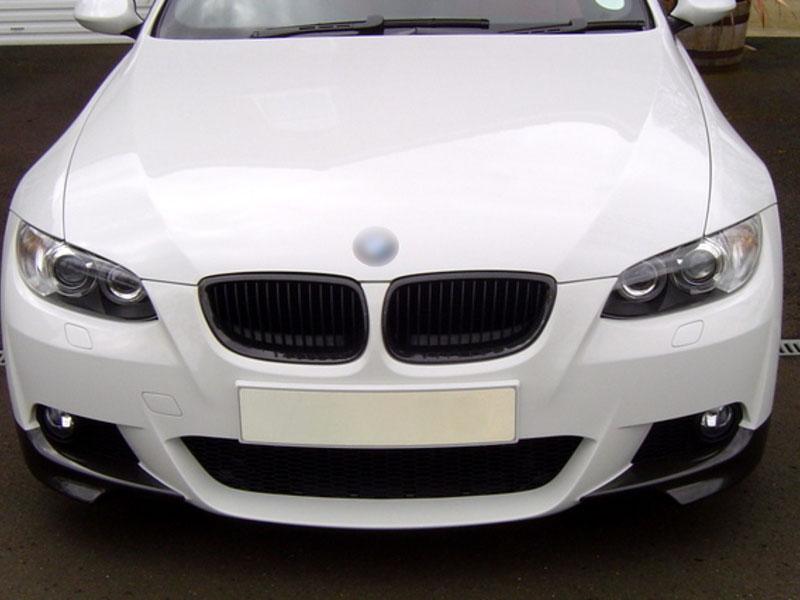 Carbon Fiber Front Bumper Splitter Spoiler For BMW E92 E93 M Sport Package