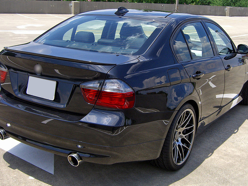 Carbon Fiber Trunk Lip Spoiler For BMW E90 Sedan M3