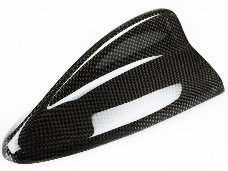 REAL CARBON FIBER FIBRE SHARK FIN ANTENNA BMW M3 LOOK