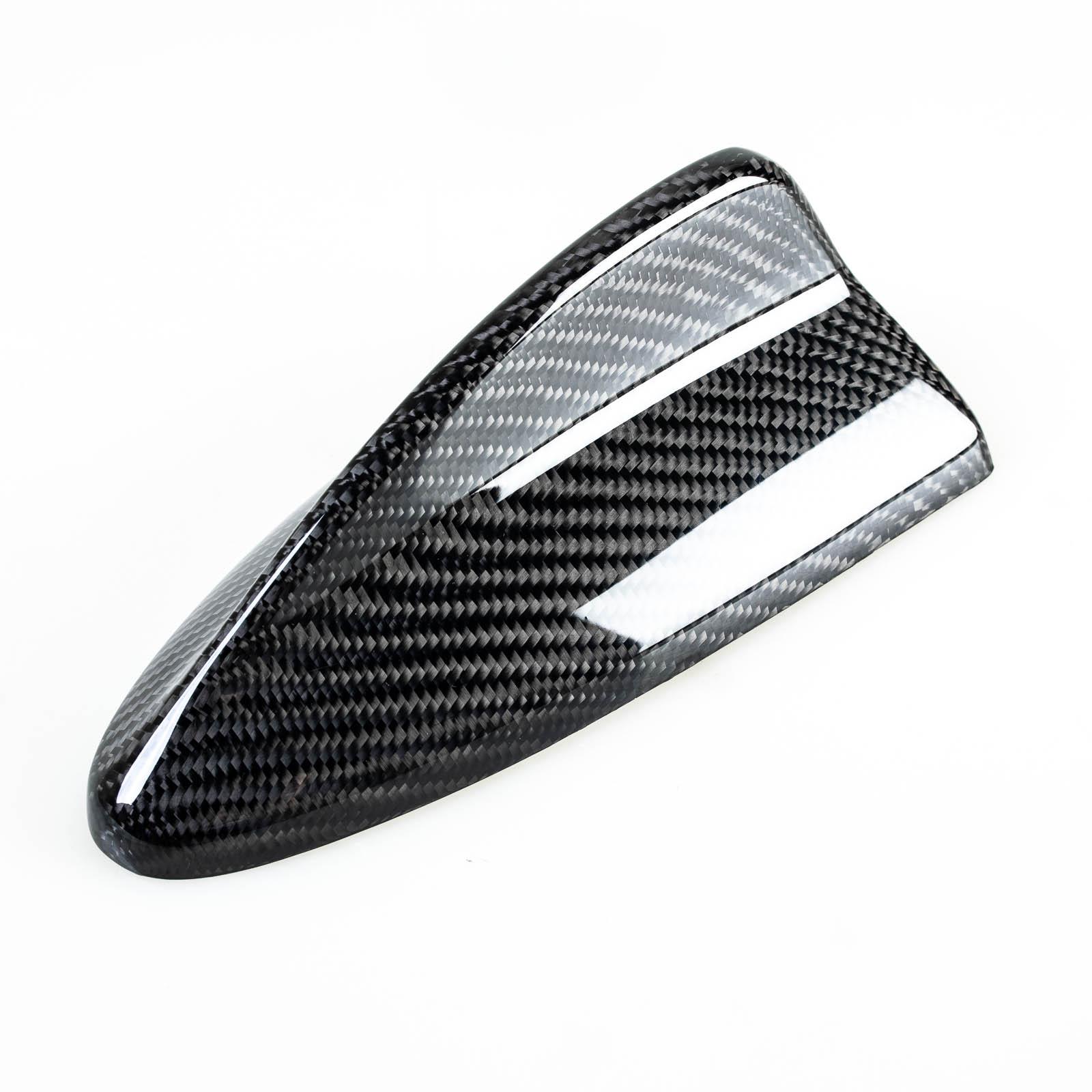 Carbon Fiber Fibre Shark Fin Antenna For BMW M3 Look