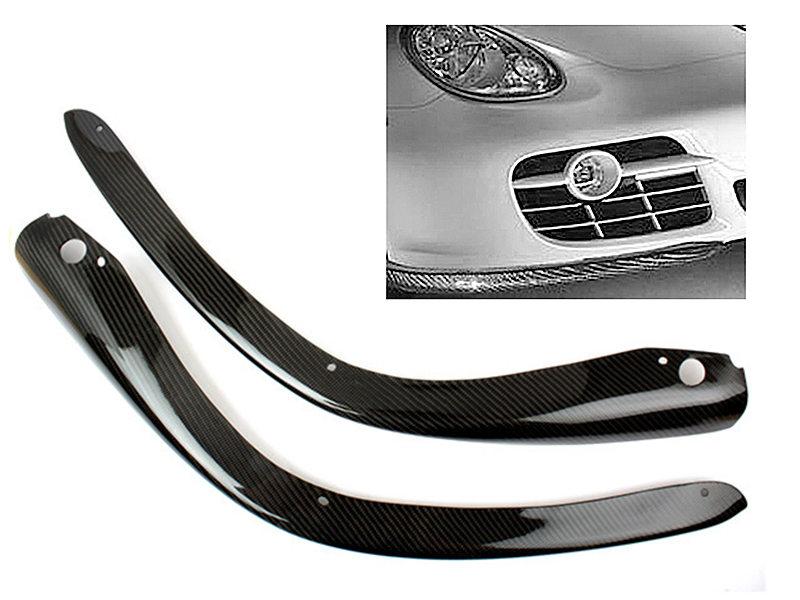 Carbon Fiber Front Bumper Splitters For Porsche 987 Cayman S