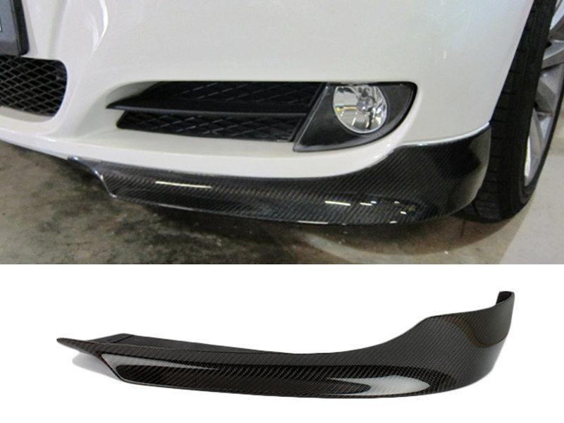 Carbon Fiber Front Bumper Lip Splitters BMW E90 E91 LCI
