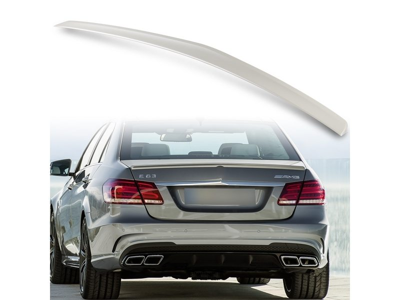 Unpainted AMG Style ABS Aero Rear Trunk Boot Spoiler Wing For Mercedes Benz W212 10-15