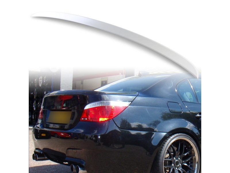 Unpainted M5 Style ABS Aero Rear Trunk Boot Spoiler Wing For BMW E60 04-10