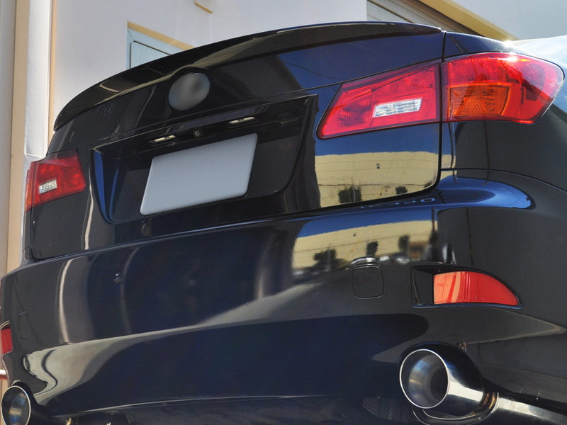 Unpainted OE Style ABS Aero Rear Trunk Boot Spoiler Wing For Lexus IS250 2006-2012