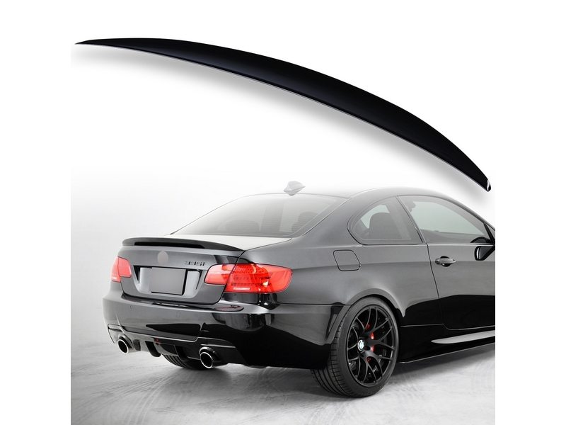 Painted ABS trunk spoiler for BMW E92 Performance Type Black Saphire 475