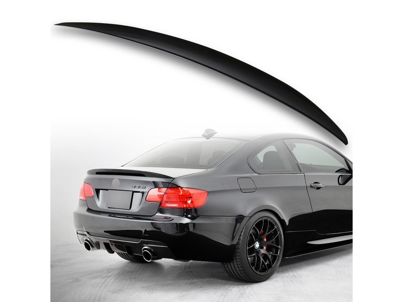 Painted ABS trunk spoiler for BMW E92 Performance Type Jet Black 668