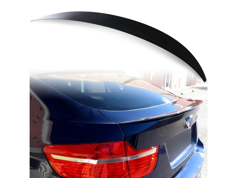 Painted ABS trunk spoiler for BMW E71 Performance Type Black Saphire 475