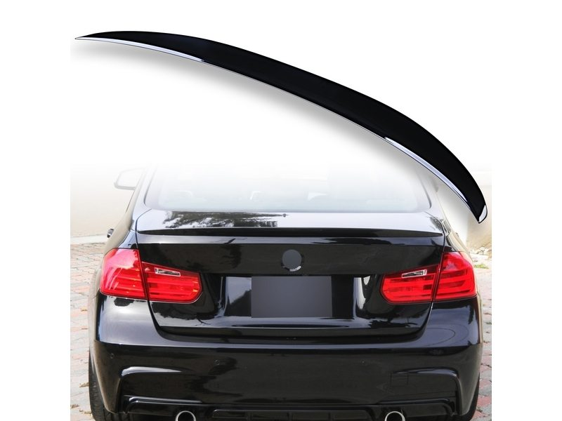 Painted ABS trunk spoiler for BMW F30 Performance Type Black Saphire 475
