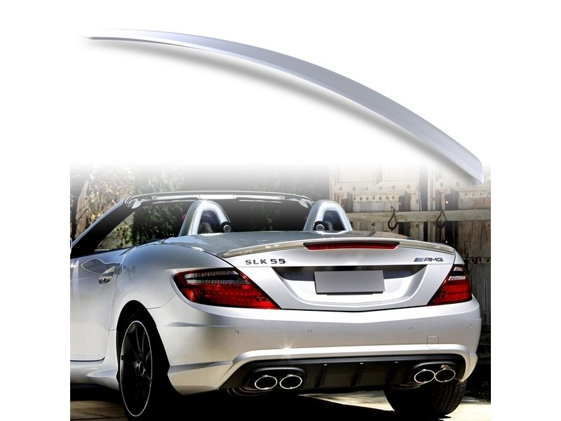 Painted ABS trunk spoiler for Mercedes Benz R172 AMG STYLE Iridium Silver 775
