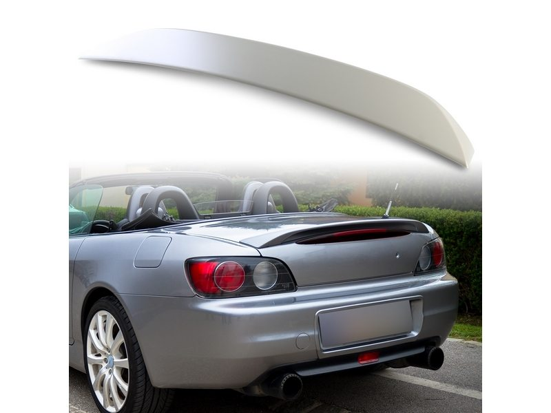 OE Type Unpainted Aero Rear Trunk Boot Spoiler Wing ABS For Honda S2000