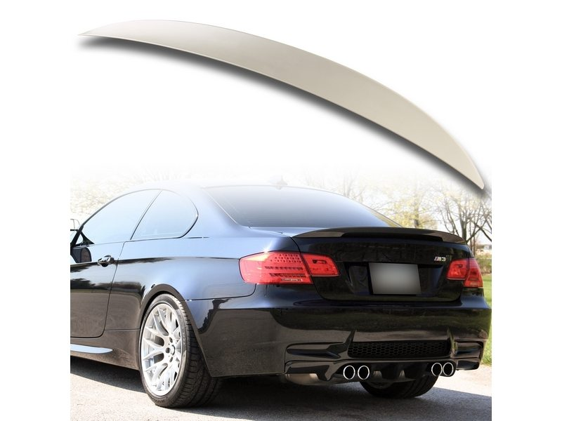 High Kick Performance Unpainted ABS Trunk Spoiler For BMW E92 325i 328i 335i