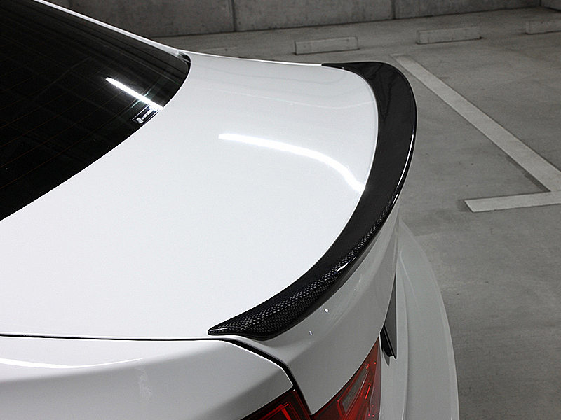 Carbon Fiber 3D Style Rear Trunk Spoiler Wing For BMW F30 Sedan