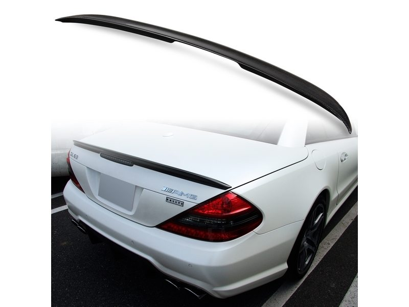 Carbon Fiber A Style Rear Trunk Spoiler Wing For Mercedes Benz R230 SL-Class