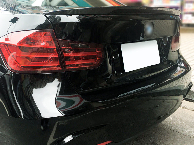 For BMW F30 F80 M3 Performance Style Real Carbon Fiber CF Trunk Spoiler