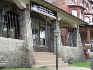 The main offices of CUTS on Hunting Park Avenue.