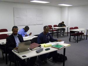 Classes at Deliverance Evangelistic Church.