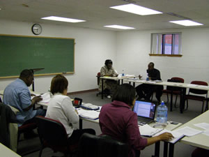 One of the center's Thursday evening classes.