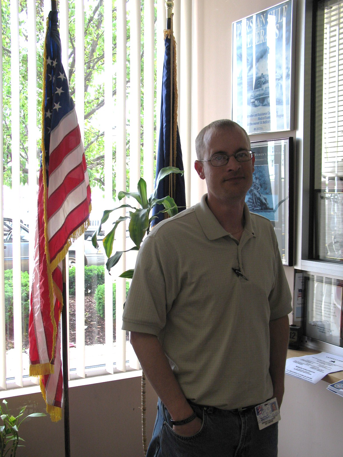 Global War on Terrorism Outreach Specialist and OIF/OEF veteran Josh Dillinger