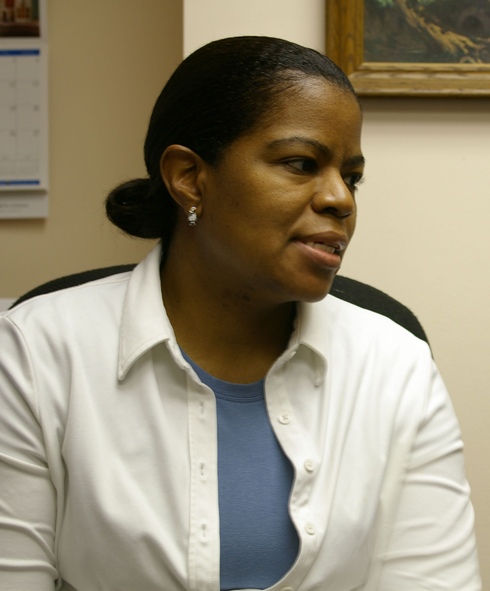 Tracey Sims-Brooks is the church secretary at St. Paul's.