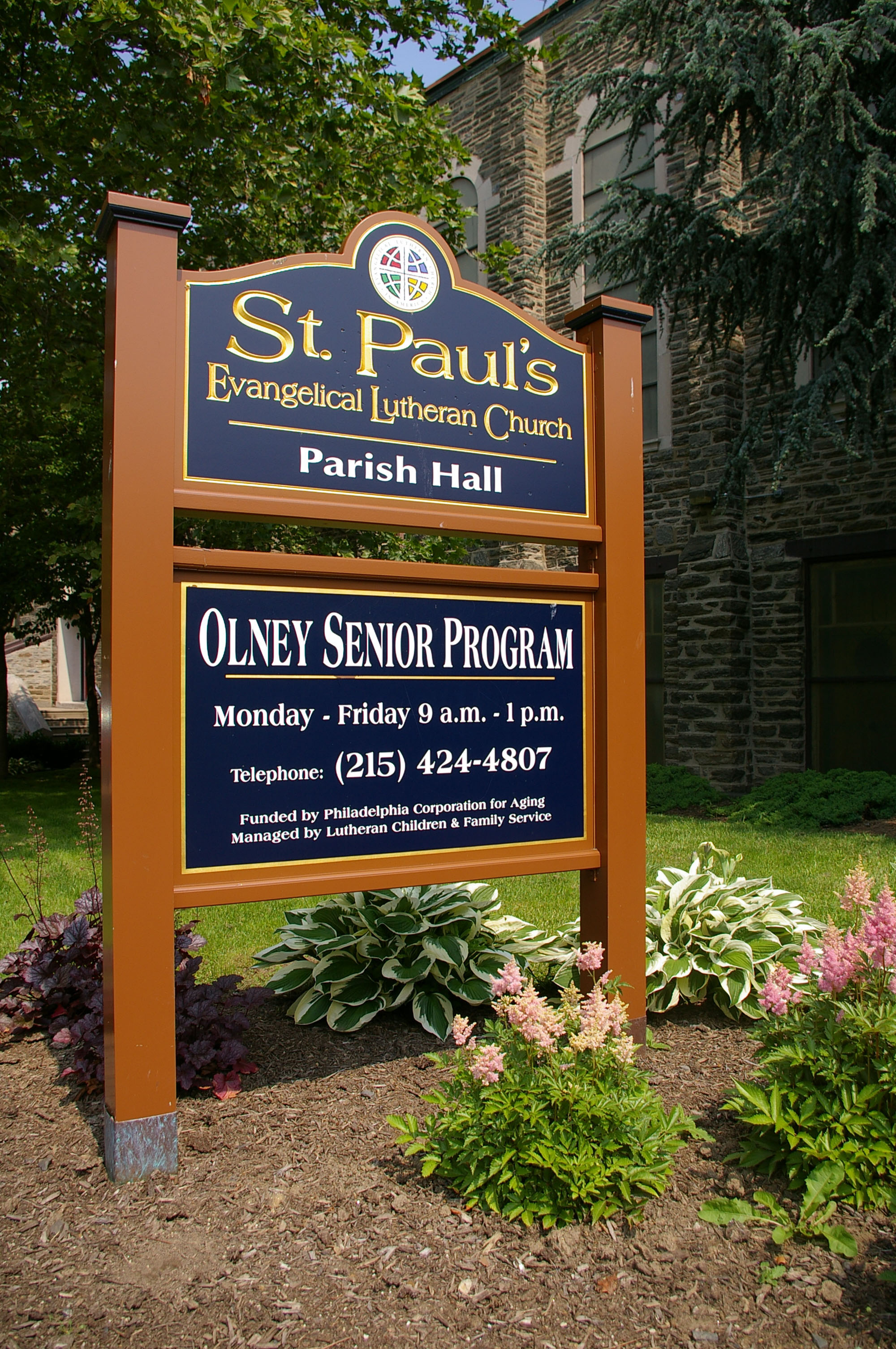 St. Paul's is home to the only emergency food kitchen in Olney.