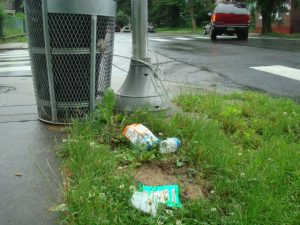 trash cans ignored