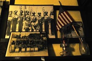 Photos of past VFW members.
