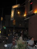 A Young Crowd Enjoys the Night Outside Johnny Brenda's in Fishtown.