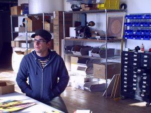 Vinylux owner Jeff Davis