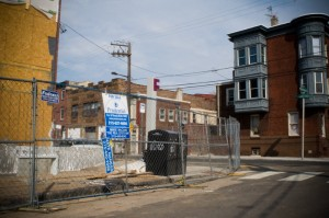 The corner of Frankford and Montgomery Ave used to contain one of the worst abandoned lots in the city. Today, new houses are being built there.