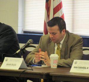 Pa. Rep. Kevin Boyle, D-172nd, leads a panel on methadone clinics.