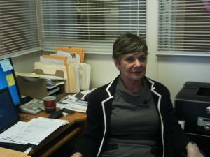 Karen Becker, the center's coordinator, has been working at St.Anne's since July 2012.