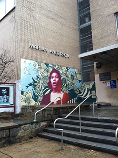 The Marian Anderson has helped many young children throughout the years.