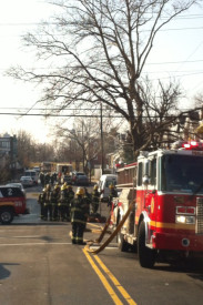Authorities blocked off the streets surrounding the gas leak for most of the morning.