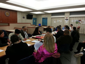 Business owners, activists, community organizers and concerned residents attended the Police District Advisory council to give their input on safety in the neighborhoods.