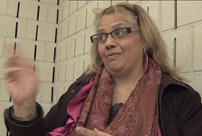 Luiza Baerga, Orianna Street Block Captain, said that unity between neighborhoods and neighbors is important to combat crime